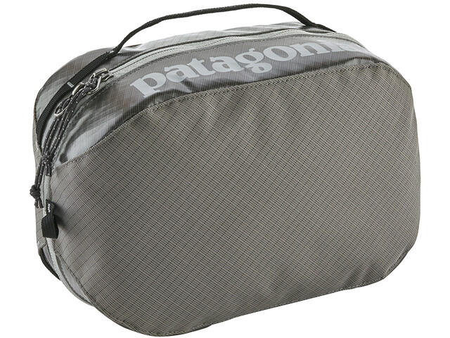 Patagonia Black Hole Cube Toiletry Bag M hex grey
